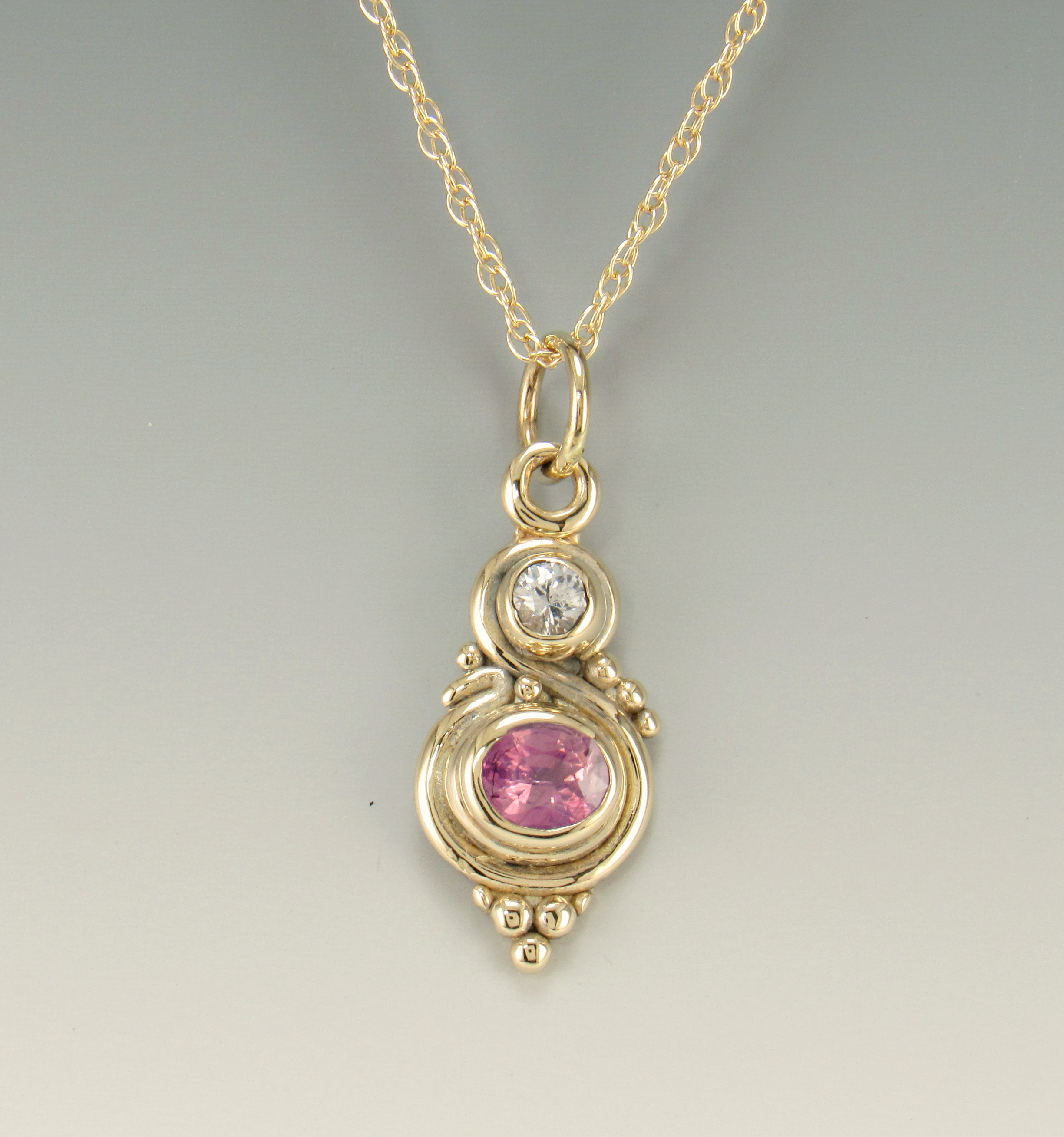 ctw moissanite necklace floating gold white in a heart