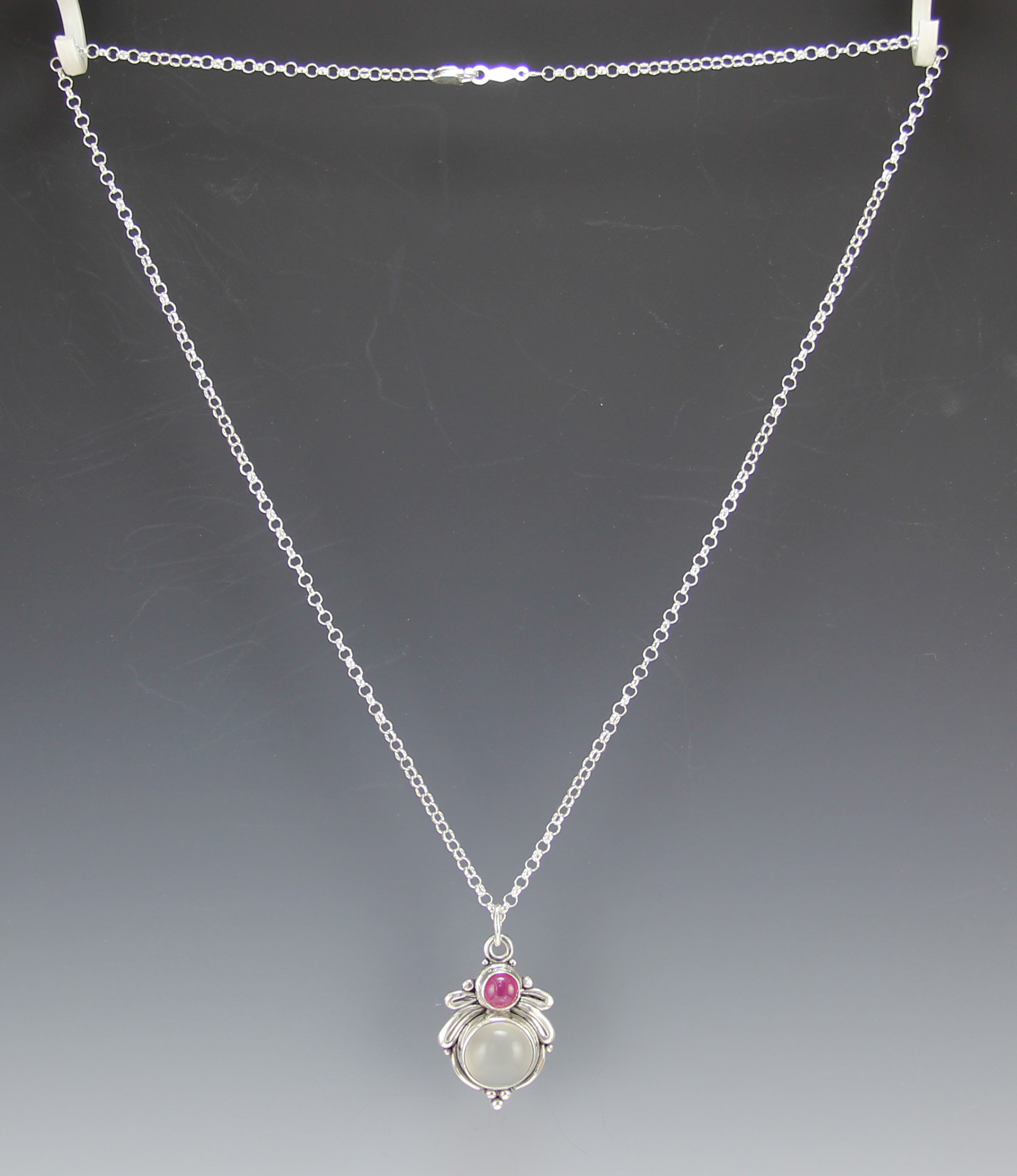 in white maine oval necklace pendant gold pink diamond with tourmaline tw